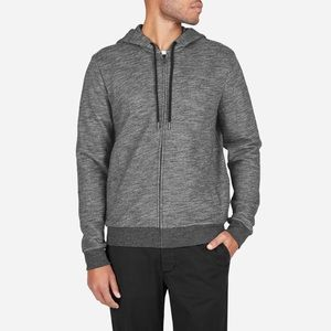Everlane The Zip Hoodie Sweatshirt M